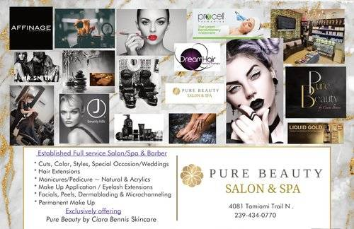 Pure Beauty Salon and Spa services